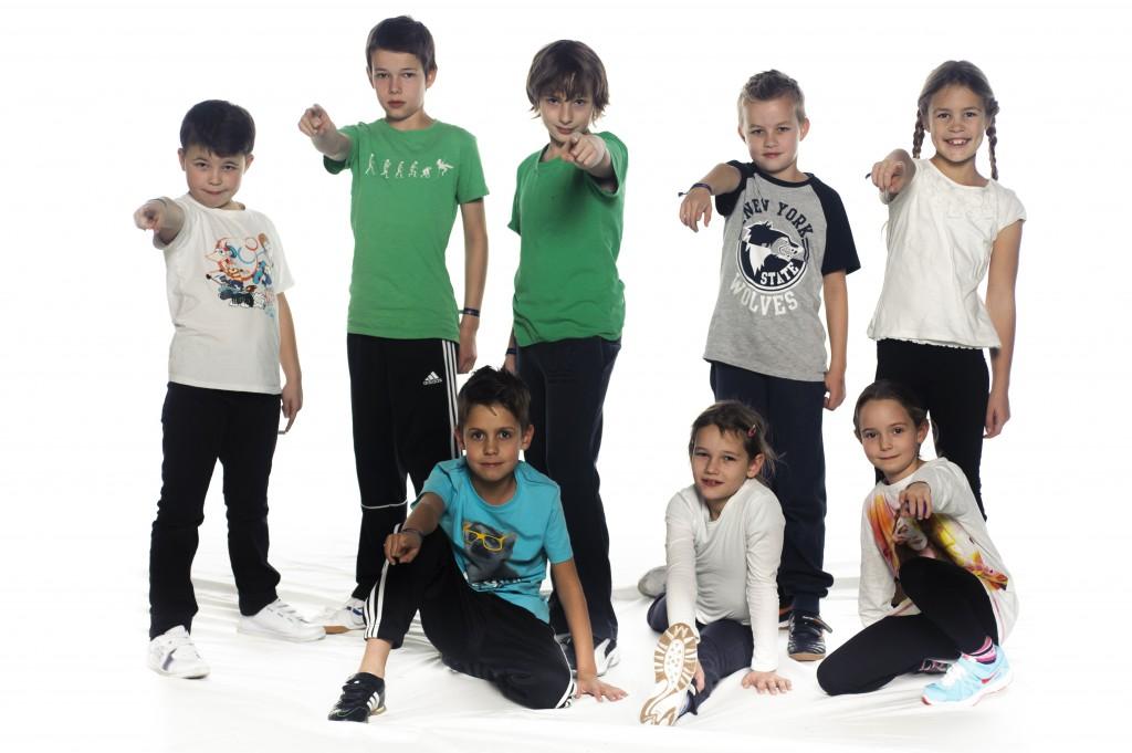 Gruppenfoto: New Kidz