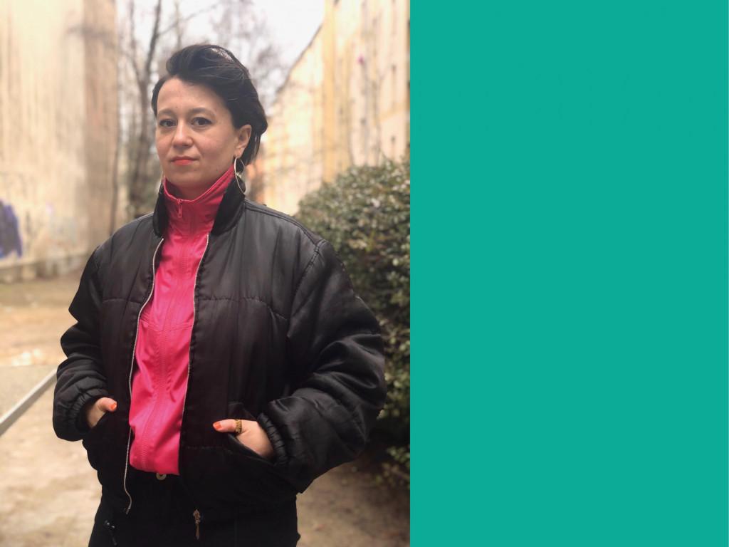 Ewe Benbenek ist Gewinnerin des Mülheimer Dramatikpreises 2021 / Grafik: Katharina Krüger
