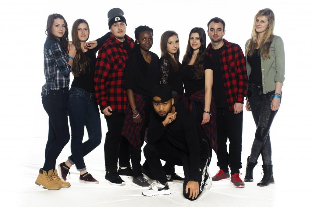 Gruppenfoto: ADC Artemis Dance Crew