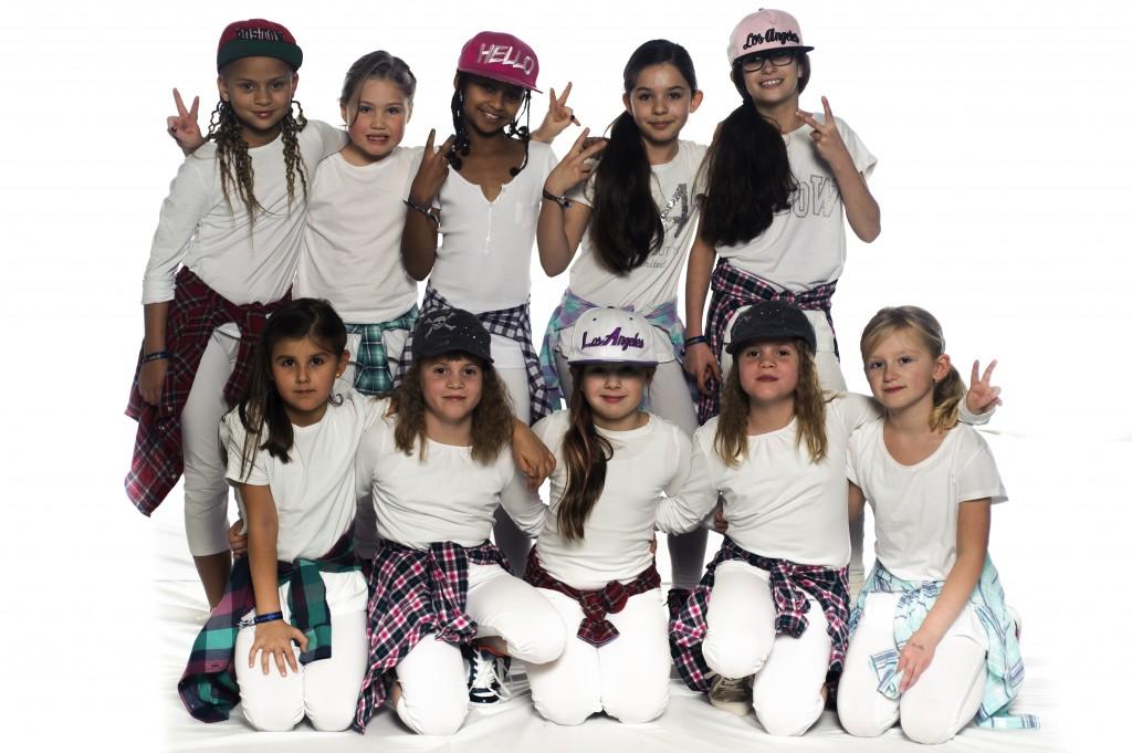 Gruppenfoto: Funky Girls