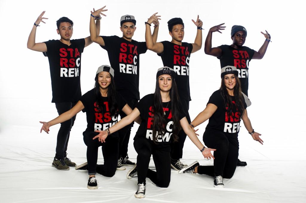Gruppenfoto: Star Crew