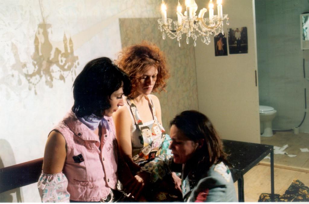 Szene aus Prater-Trilogie. Insourcing des Zuhause - Menschen in Scheiss-Hotels von René Pollesch