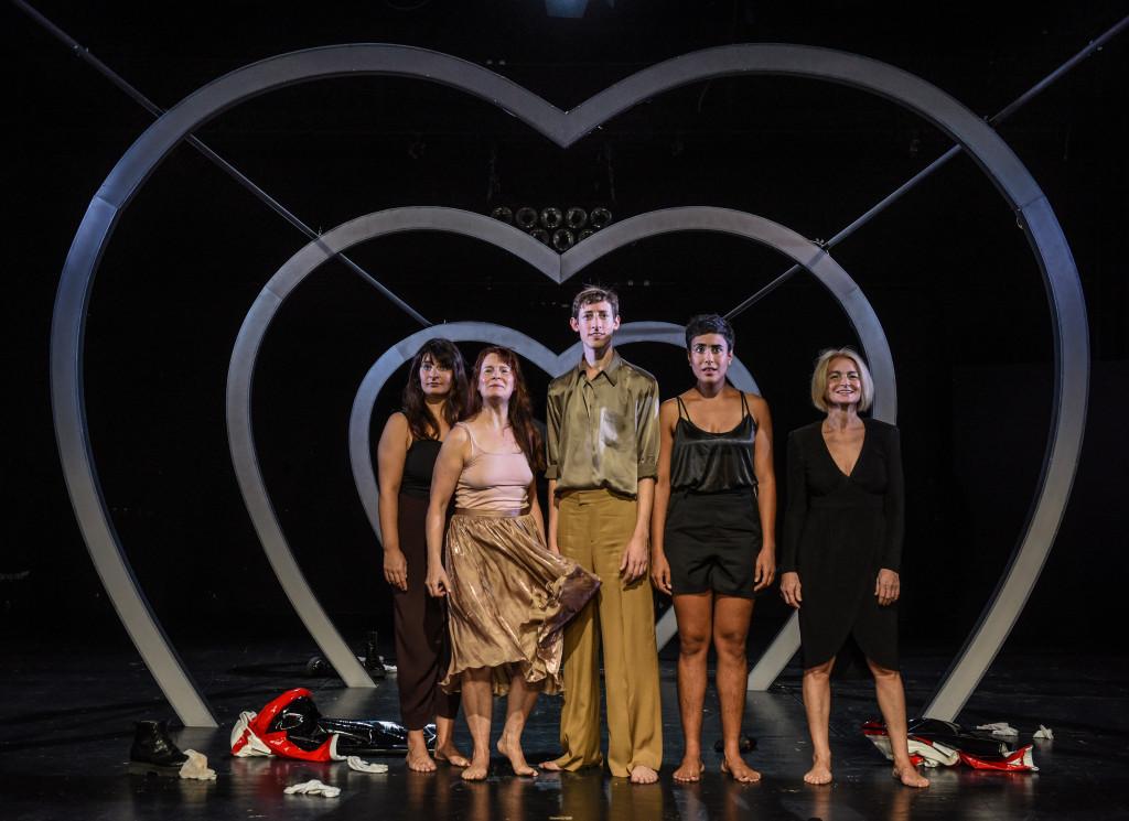 Liebe / Eine argumentative Übung von Sivan Ben Yishai und Maren Kames / Foto: Hans Jörg Michel
