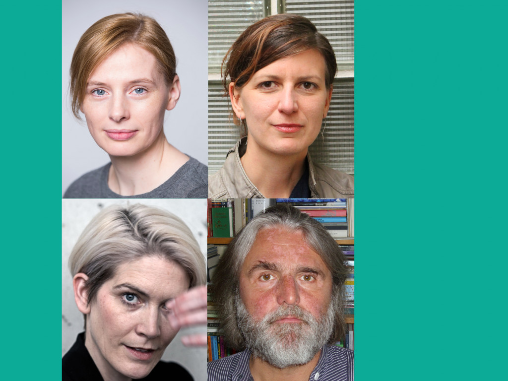 Die Jury für den Mülheimer KinderStückePreis / Grafik: Katharina Krüger