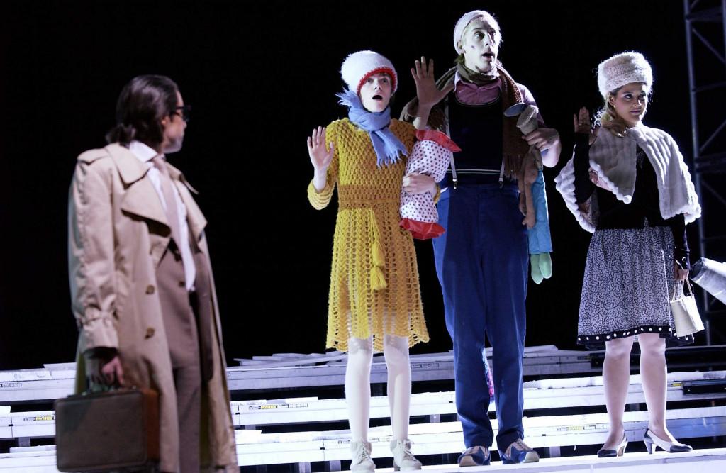 Szene aus WE ARE CAMERA / jasonmaterial von Fritz Kater