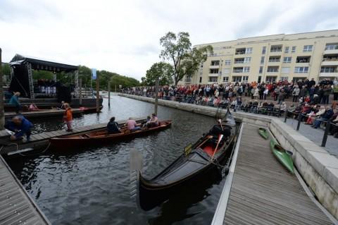 1. Promenadenfest und Stadthafen-Eröffnung: Gelungene Fest-Premiere.