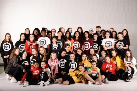 TNV Teens der Tanzschule National Vibes am 23.11.2019 bei Let's Dance