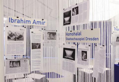 "19. Mai - ""Homohalal"" von Ibrahim Amir / Foto: Marie-Luise Eberhardt"