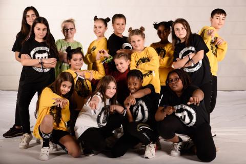 TNV Youngteens der Tanzschule National Vibes am 23.11.2019 bei Let's Dance