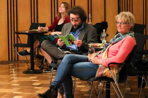 """27. + 28. Mai - """"Die Abweichungen"""" von Clemens J. Setz / Foto: Marie-Luise Eberhardt"""