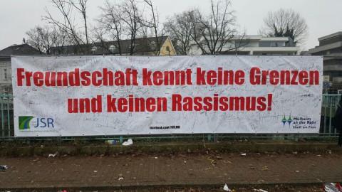 Banner Antirassismus