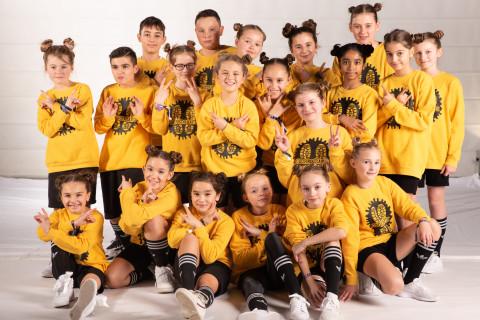 Choreografix der Tanzschule National Vibes am 23.11.2019 bei Let's Dance