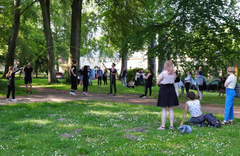 "1. Jun - Studierenden-Symposium ""Hauptsache Text!?""  Foto: Marie-Luise Eberhardt"