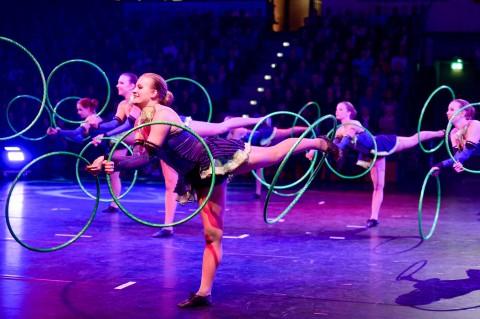 Club Piruett mit dem Auftritt girls girls girls bei der medl-Nacht der Sieger 2016