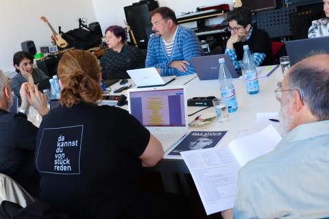 Werkstatt Theater übersetzen 2019 / Foto: Marie-Luise Eberhardt
