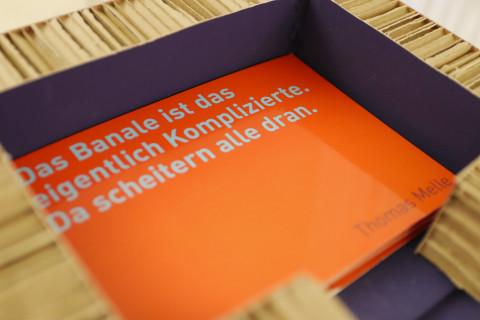 "31. Mai - ""Versetzung"" von Thomas Melle / Foto: Marie-Luise Eberhardt"
