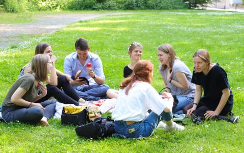 "1. Juni - Studierenden-Symposium ""Hauptsache Text!?""  Foto: Marie-Luise Eberhardt"