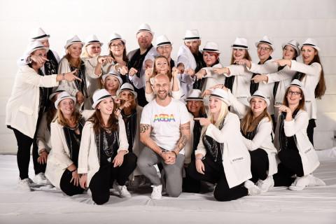 Spätschicht der Tanzschule dance it! und Stefan Falkenberg am 23.11.2019 bei Let's Dance