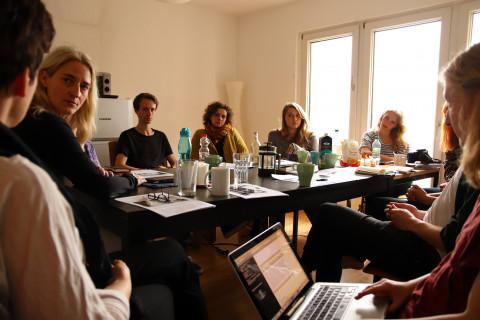 Blog-Seminar / Foto: Marie-Luise Eberhardt