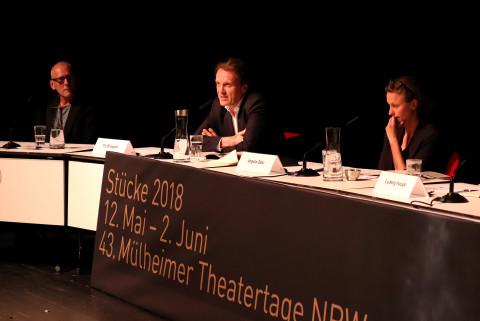 2. Juni - Jurydebatte / Foto: Marie-Luise Eberhardt