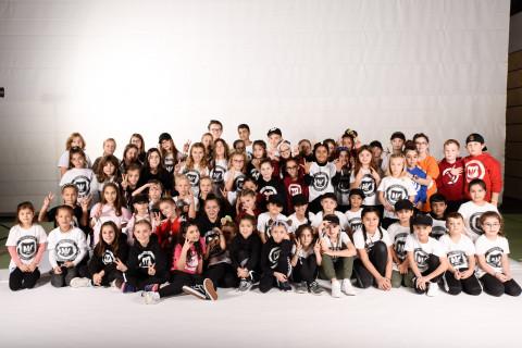 TNV Kids der Tanzschule National Vibes am 23.11.2019 bei Let's Dance