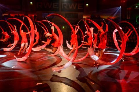 Club Piruett mit dem Auftritt Carmen bei der medl-Nacht der Sieger 2016