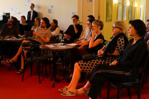 "1. Juni - Studierenden-Symposium ""Hauptsache Text!?"" / Foto: Marie-Luise Ebeerhardt"