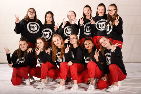Upright der Tanzschule National Vibes am 23.11.2019 bei Let's Dance
