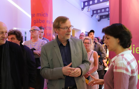 "31. Mai + 1. Juni - ""Mitwisser"" von Enis Maci / Foto: Marie-Luise Eberhardt"