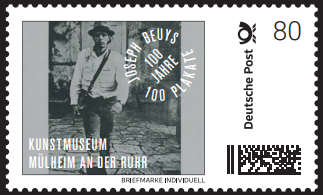 Briefmarke Individuell Joseph Beuys