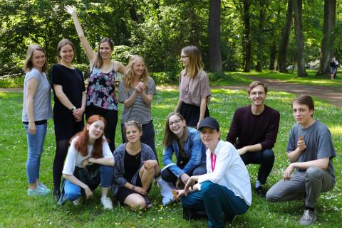 Blogger*innen 2019 / Foto: Marie-Luise Eberhardt