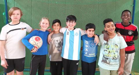 Foxis-Fußballteam