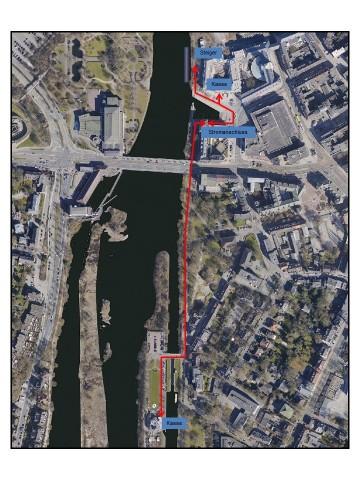 Alle Ruhrtouristen, Schiffer und Paddler können den Stadthafen oder den Stadtsteiger nutzen.