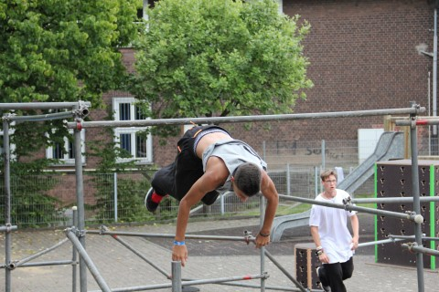 Parkour Camp Mülheim 2015