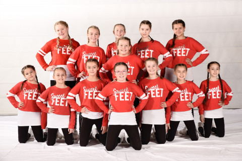 Sweet Feet der Tanzschule dance it! am 23.11.2019 bei Let's Dance