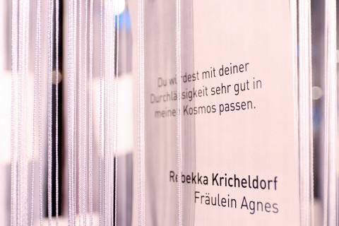 """21. Mai - """"Fräulein Agnes"""" von Rebekka Kricheldorf / Foto: Marie-Luise Eberhardt"""