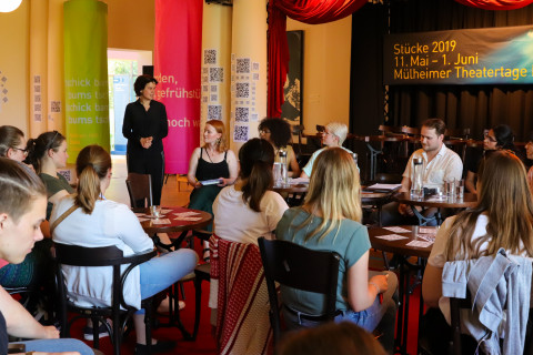 "1. Juni - Studierenden-Symposium ""Hauptsache Text!?"" / Foto: Marie-Luise Eberhardt"