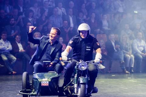 Claus Lufen bei der medl-Nacht der Sieger 2016