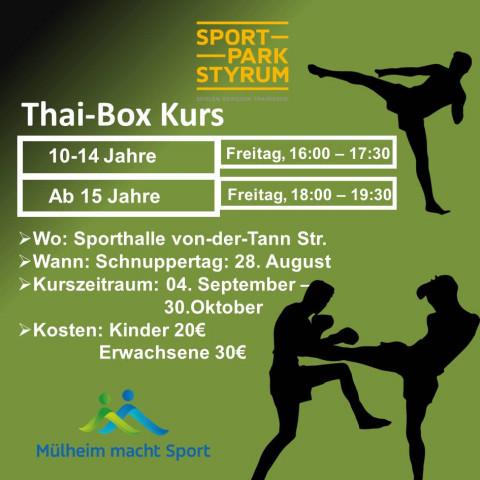 Thai-Box-Kurs Styrumer Sportpark