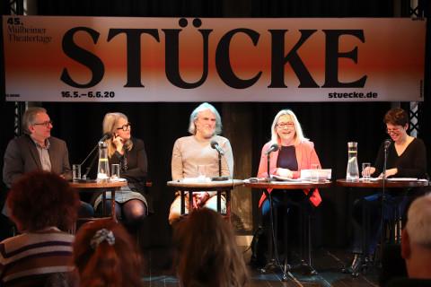 Pressekonferenz der 45. Mülheimer Theatertage / Foto: Marie Luise-Eberhardt