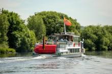 Das Fahrgastschiff Friedrich Freye