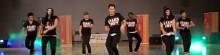 Tanzgruppe beim Mülheimer Tanzfestival Let´s Dance