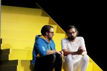 Yael Ronen & Ensemble: The Situation, Gorki Theater / Foto Ute Langkafel, Maifoto