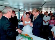 Heiraten auf der Weißen Flotte