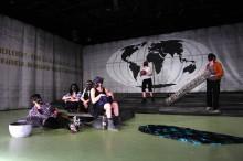 Szene aus Kassandra oder die Welt als Ende der Vorstellung von Kevin Rittberger