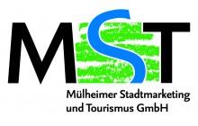 Logo Mülheimer Stadtmarketing und Tourismus GmbH (MST)