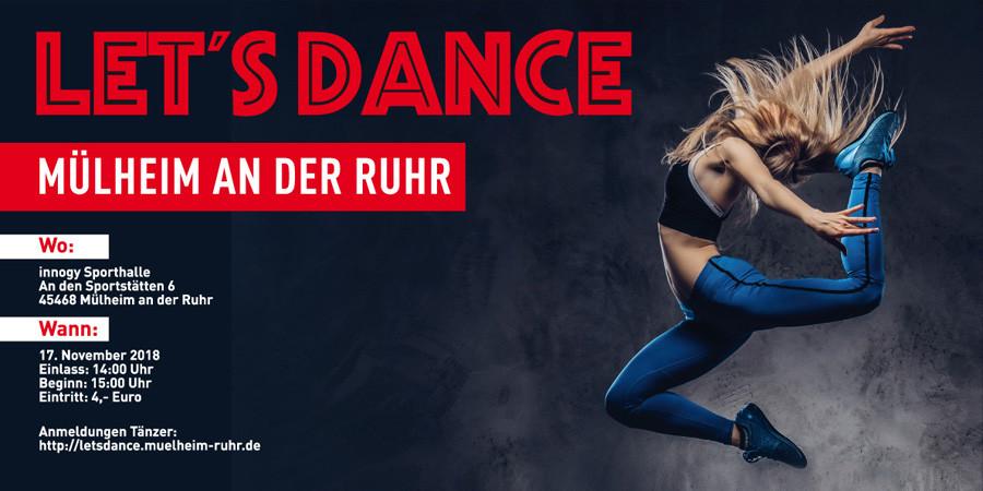 Lets Dance - Veranstaltungsbanner 2018