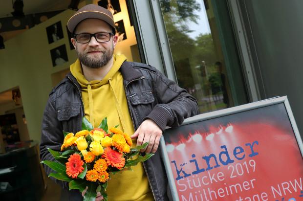 Preisträger Kristo Šagor / Foto: Marie-Luise Eberhardt