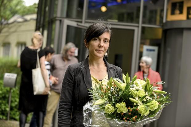 Preisträgerin Tina Müller / Foto: Sebastian Hoppe