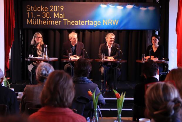 Pressekonferenz 44. Mülheimer Theatertage NRW / Foto: Marie-Luise Eberhardt